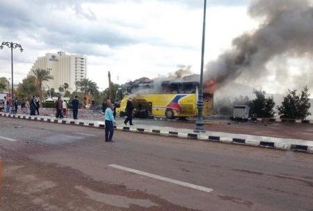 مصر تشهد سلسلة من التفجيرات قبل انتخابات الرئاسة