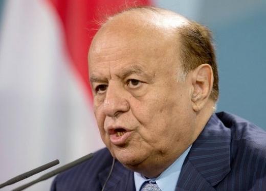 الرئيس هادي يطالب مجلس الأمن بدعم عمل عسكري للتصدي للحوثيين