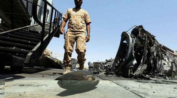 """قوات """"فجر ليبيا"""" تعلن تطهير """"ورشفانة"""" من قوات اللواء حفتر"""