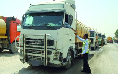 25 ألف مخالفة للشاحنات في دبي خلال 3 أشهر