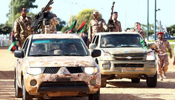 اغتيال مدير فرع المخابرات الليبية في بنغازي
