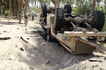 مقتل 20 جنديا عراقيا في كمين نصب لهم بنينوى