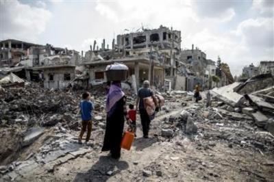 السعودية: نتطلع لتنمية غزة وليس إعادة إعمارها فقط