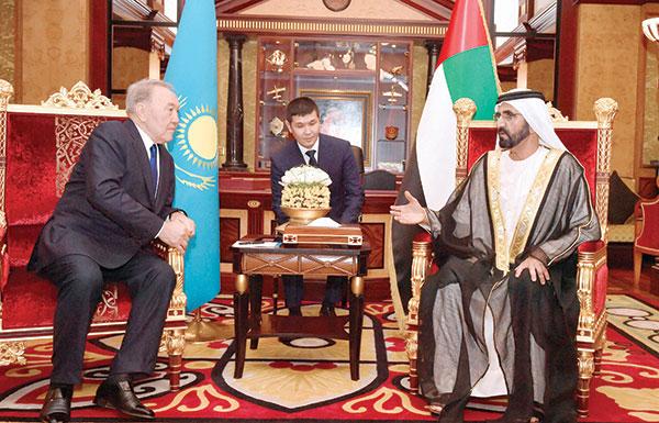 كازاخستان تستلهم تجربة دبي الاقتصادية