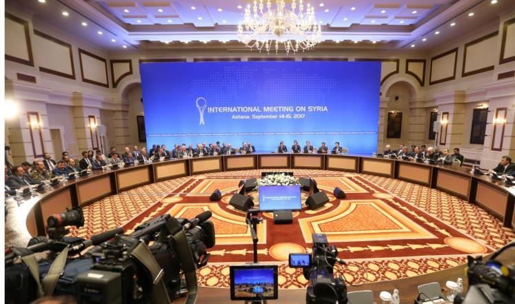 اتفاق لنشر قوات من إيران وتركيا وروسيا في إدلب