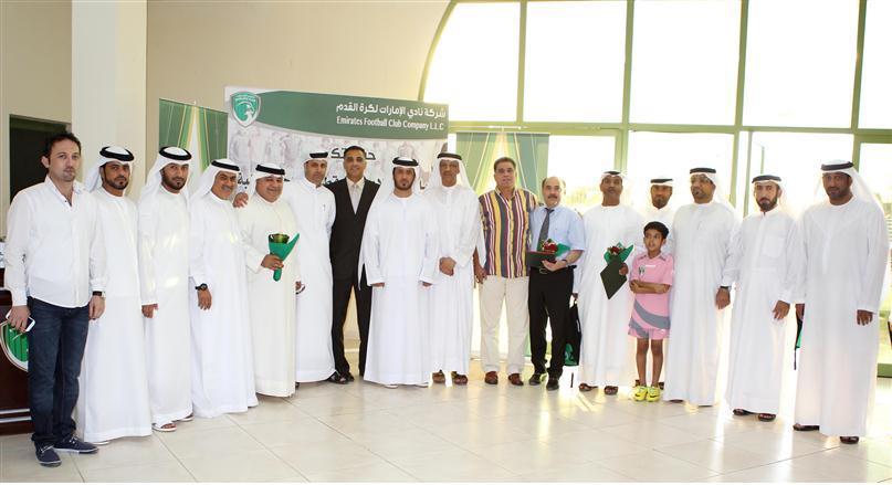 نادي الإمارات الرياضي يحتفي بأولياء أمور اللاعبين