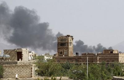 انفجار عنيف يهز مبنى الأمن السياسي اليمني في عدن