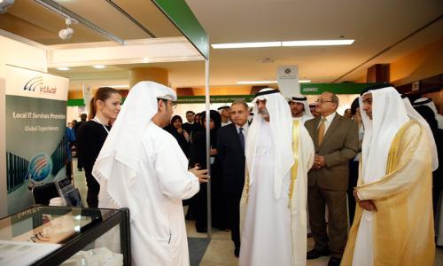 1300 طالب يبحثون فرصًا وظيفية في معرض جامعة أبوظبي