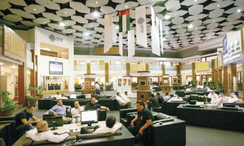 326 مليار درهم القيمة السوقية لسوق دبي المالي في الشهر الماضي