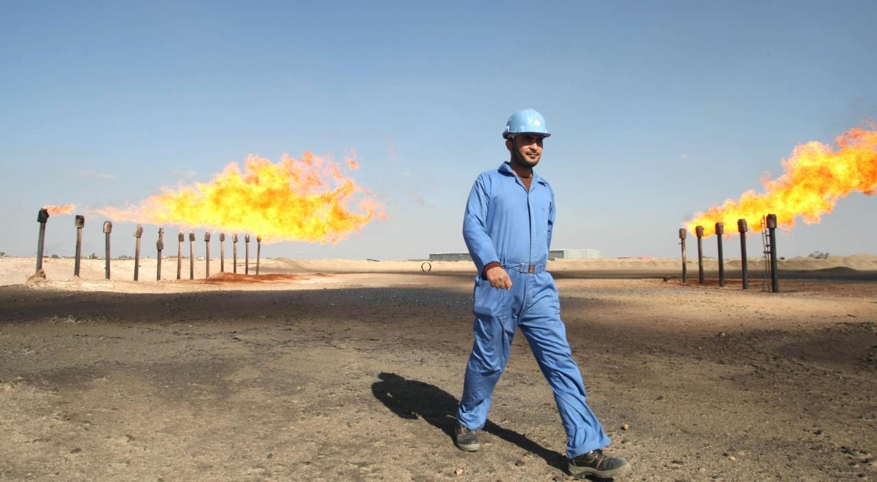 النفط يرتفع متأثراً بالصراع بين بغداد وأربيل