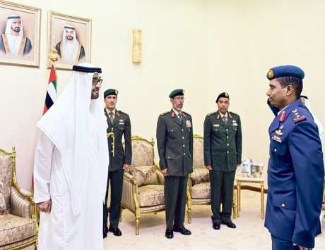 محمد بن زايد: التعامل مع متغيرات المنطقة يتطلب مؤسسات عسكرية متخصصة