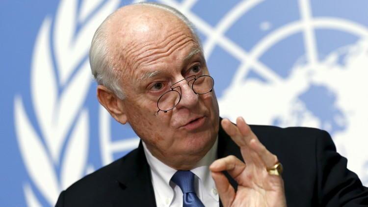 دي ميستورا: الأيام المقبلة حاسمة بالنسبة للنزاع السوري