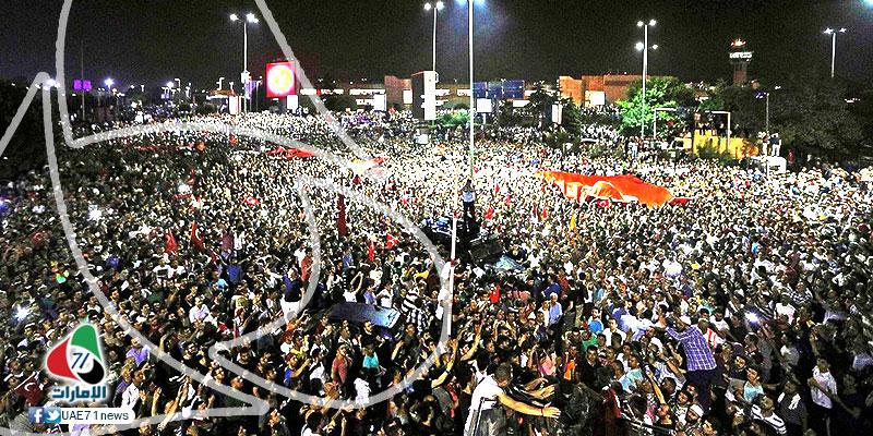 الشعب التركي يسقط الانقلاب