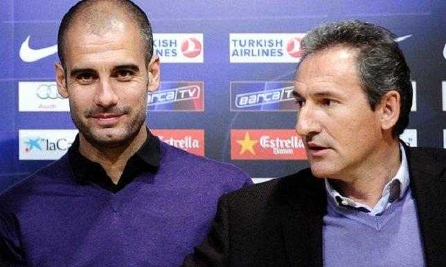 مدير مانشستر سيتي يجتمع مع جوارديولا في برشلونة