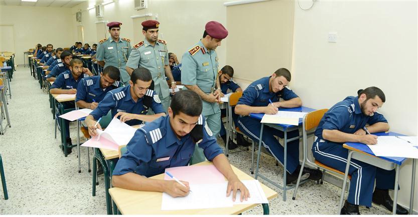 بدء الامتحانات النهائية لدفعات كلية الشرطة