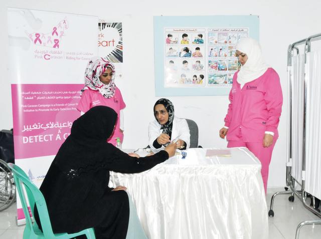 تنظيم فعالية القافلة الصحية في الشارقة