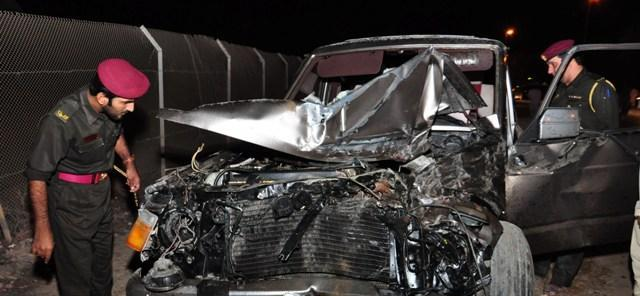 وفاة عاملين وإصابة آخرين في حادث مروري برأس الخيمة