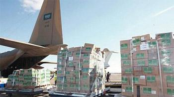 السعودية تخصص مليونا دولار لتأمين حليب الأطفال والدقيق لقطاع غزة