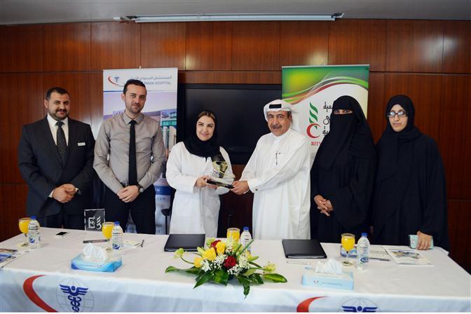 دبي الخيرية توقع اتفاقية تعاون مع مستشفيات السعودي الألماني