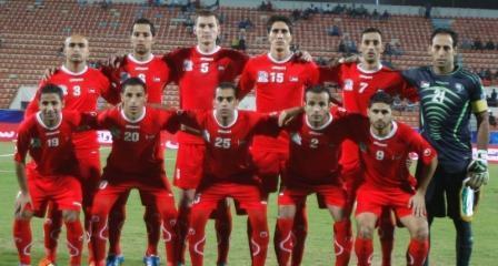 المنتخب الفلسطيني إلى نهائيات آسيا 2015