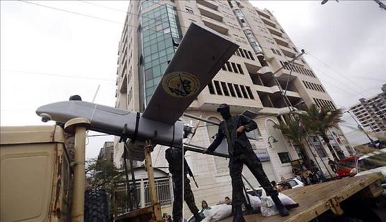 """الاحتلال: طائرات القسام تحلق فوق """"أشكول"""" وتعود لقواعدها"""