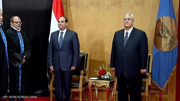 السيسي يؤدي اليمين الدستورية لرئاسة مصر
