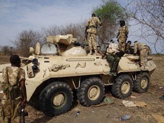 مقتل 110 من الحركة الشعبية في معارك مع الجيش السوداني