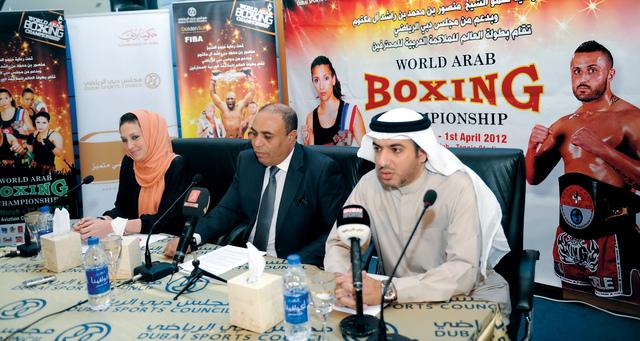 دبي تستضيف بطولة لقاء الأبطال للملاكمة العربية