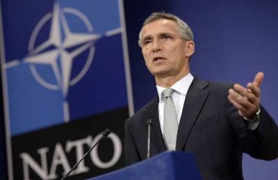 الناتو: جاهزون للدفاع عن تركيا وروسيا تستعرض عسكريا