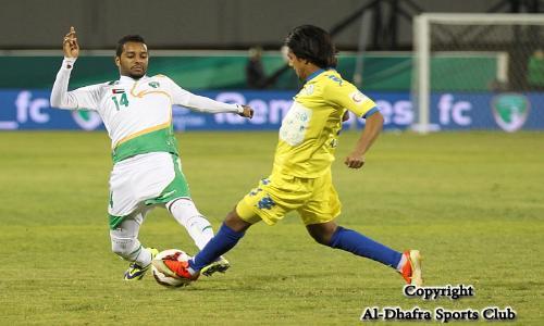 الظفرة يهزم فريق الإمارات ويتصدر المجموعة الثانية لـكأس المحترفين