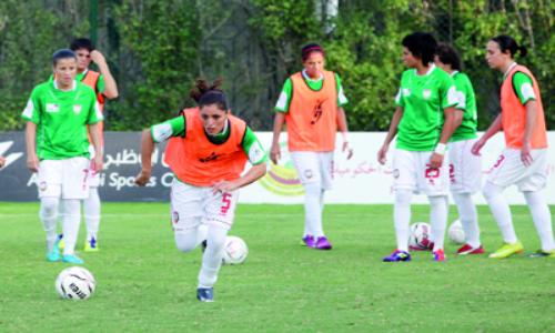 سيدات أبوظبي يفزن على منتخب البحرين بثلاثة أهداف مقابل لا شيء