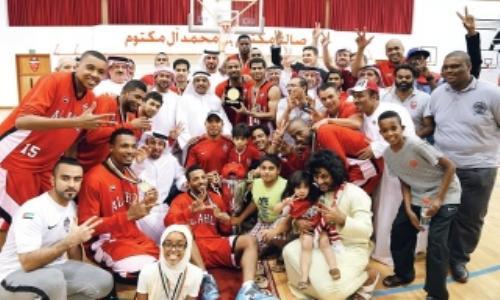الأهلي يحرز لقب دوري السلة للمرة الثالثة