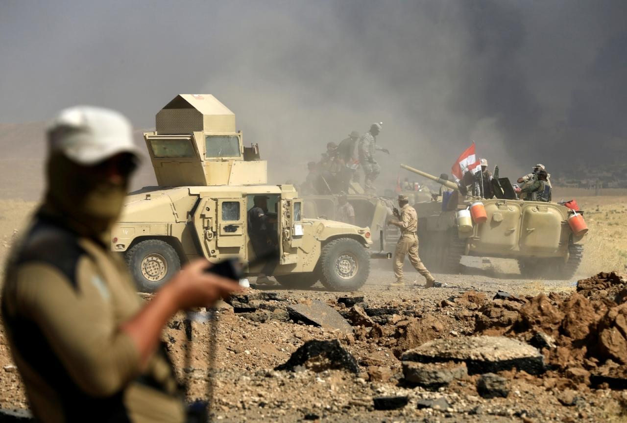 """حكومة بغداد تعترف بمقتل 115 جندياً في معركة تلعفر ضد """"داعش"""""""
