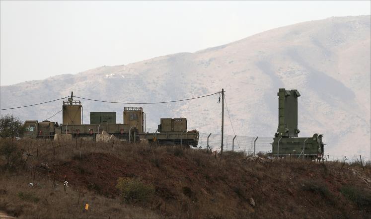 إسرائيل تسقط طائرة مسيرة فوق الجولان المحتل