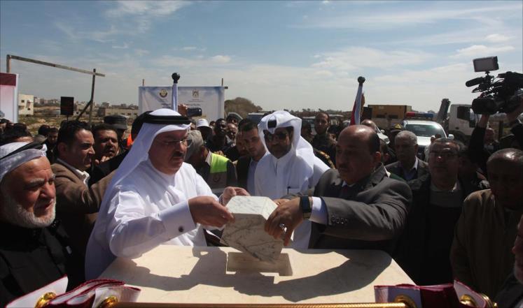 قطر تبني حياً سكنياً للأسرى المحررين في غزة