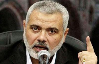 """هنية عن مسؤولين مصريين: قرار اعتبار حماس """"إرهابية"""" لم يتبن سياسيا"""