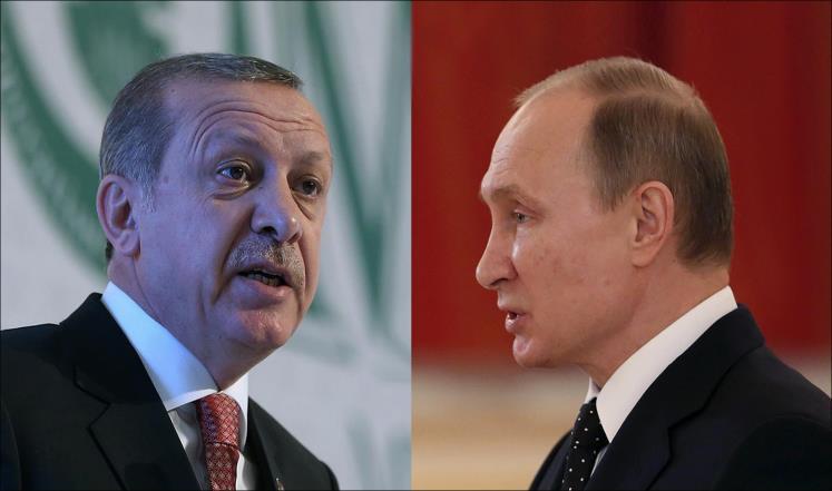 بوتين وأردوغان يبحثان تنسيق الجهود الثنائية والإقليمية