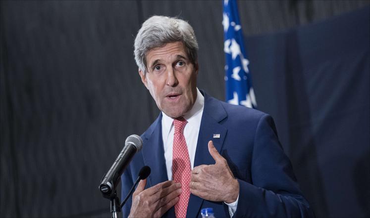 كيري يؤكد جاهزية بعض الدول لضرب داعش