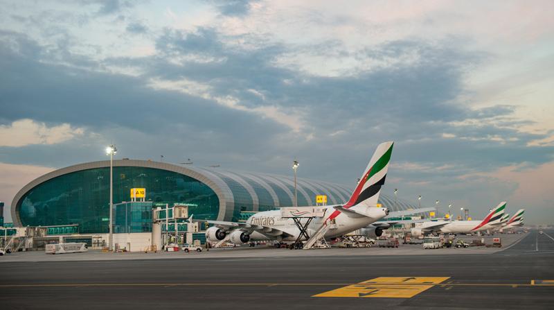 6 ملايين مسافر عبر مطار دبي في فبراير بنمو 5.3%