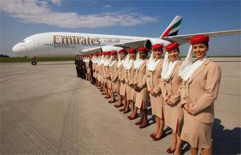 """17 مليار درهم انفاق """"طيران الإمارات"""" على تدريب موظفيها"""