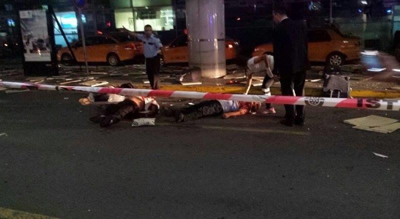 10 قتلى و23 جريحاً في هجوم بمطار أتاتورك في إسطنبول