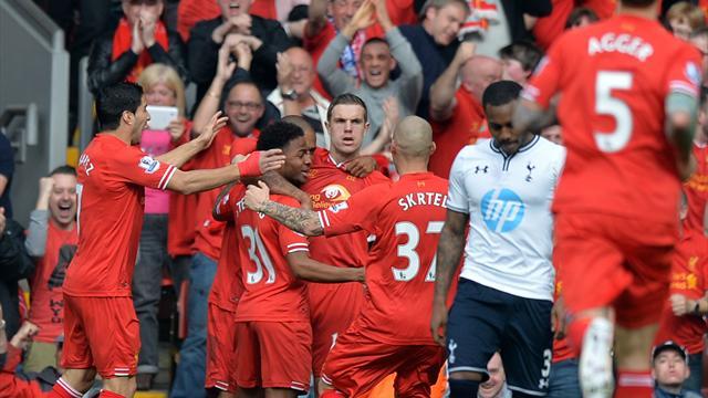 ليفربول يفوز على  توتنهام في الدوري الإنجليزي