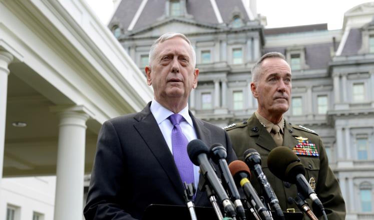 وزير الدفاع الأمريكي: لدينا خيارات عسكرية عديدة تجاه بيونغ يانغ