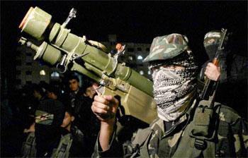 قبل 5 دقائق من بدء التهدئة القسام تقصف تل أبيب وعدة مستوطنات برشقة ص