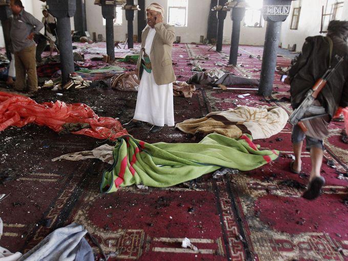 واشنطن بوست تعليقًا على تفجير مسجدين: اليمن ينهار في فوضى طائفية