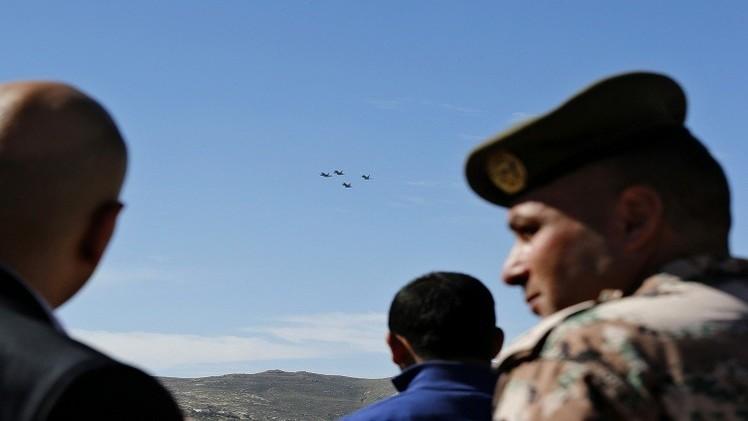 التلفزيون الأردني يذكر قيام مقاتلات أردنية بمهمة دون تحديدها