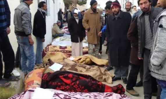 طائرات إماراتية ومصرية تصل حدود ليبيا لنقل جرحى تفجير القبة