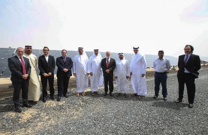 وفد رفيع من المكتب الدولي للمعارض يتفقد البنية التحتية للطاقة في دبي