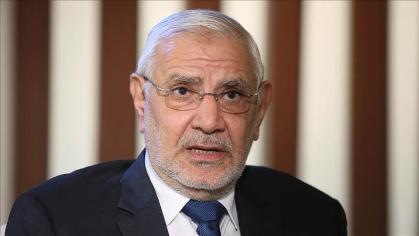 الأمن المصري يلقي القبض على أبو الفتوح وآخرين من حزبه