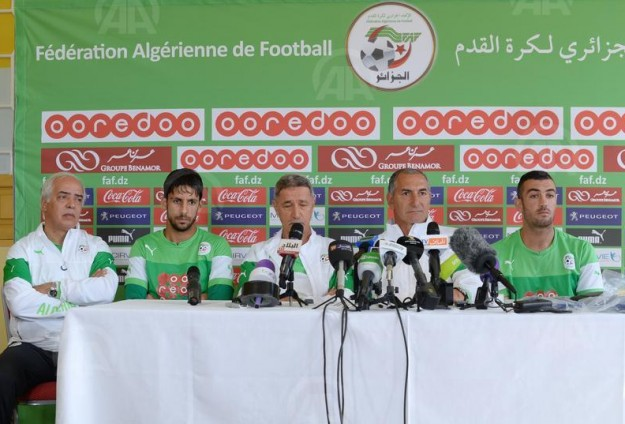 مساعد مدرب الجزائر: الفريق جاهز بشكل جيد للقاء بلجيكا